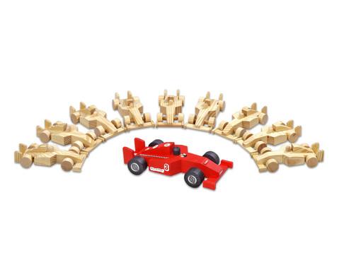 Betzold 10er-Set Holzautos