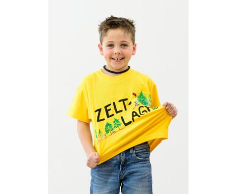 Buntes Kinder T-Shirt-5