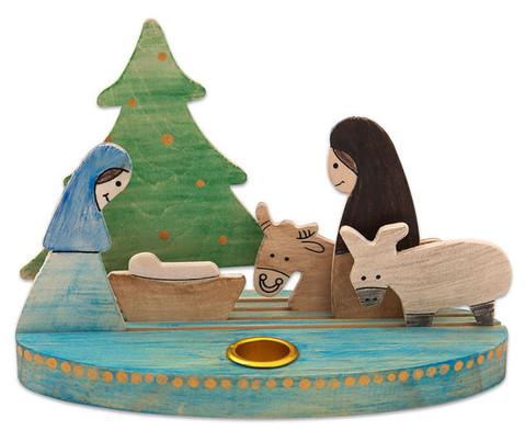 Weihnachtslicht Krippe zum Selbstgestalten-4