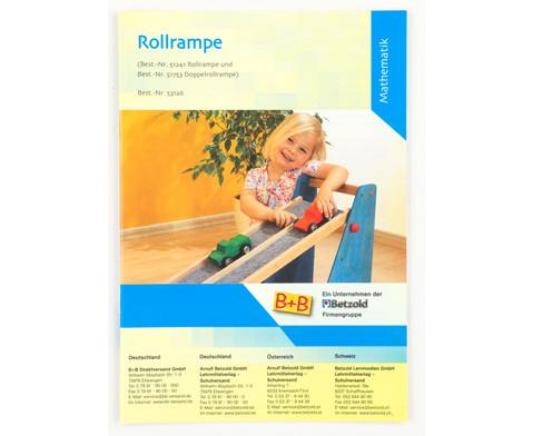 Betzold Anleitung Rollrampe