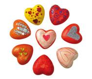 Styropor-Herzen, 12 Stück