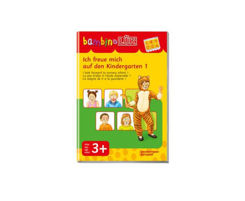 bambino LUEK Ich freue mich auf den Kindergarten 1-1