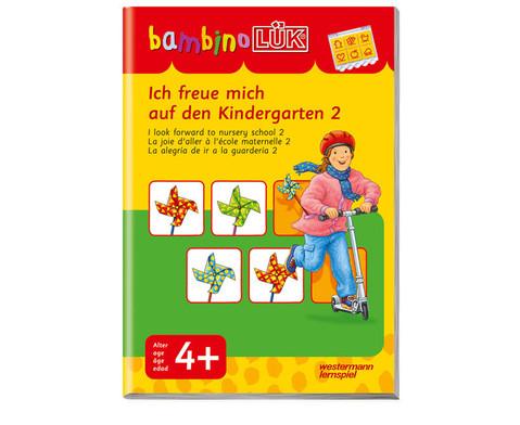 bambino LUEK Ich freue mich auf den Kindergarten 2-1