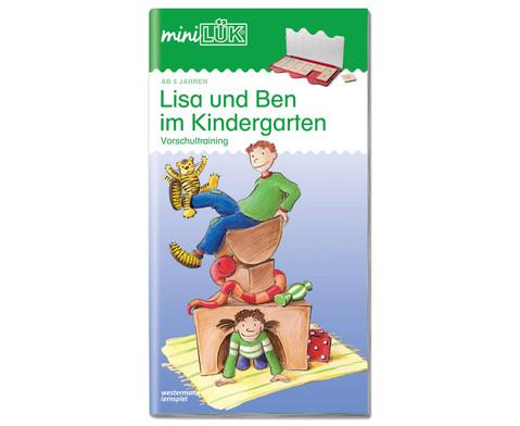 miniLUEK Lisa und Ben im Kindergarten