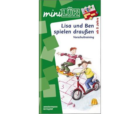 miniLUEK-Heft Lisa und Ben auf dem Spielplatz