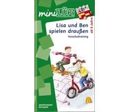 miniLÜK-Heft: Lisa und Ben auf dem Spielplatz