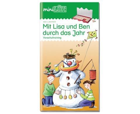 miniLUEK-Heft Mit Lisa und Ben durchs Jahr-1