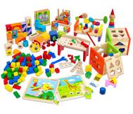 Holzspielzeugkiste