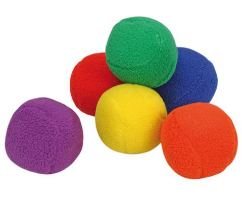Schaf-Fell-Ball-Set