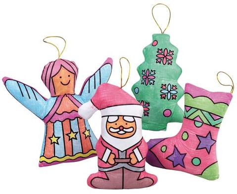 Weihnachtsfiguren zum Bemalen 4er Set-2