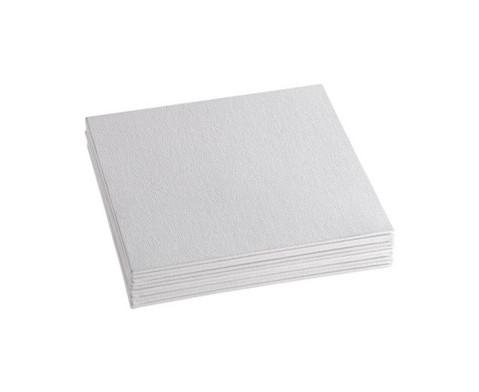 Karton Leinwaende quadratisch 10 Stueck-4