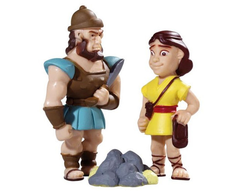David und Goliath Spielfiguren-2