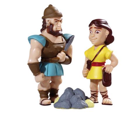 David und Goliath Spielfiguren-1