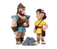 David und Goliath Spielfiguren