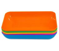 Materialschalen-Set, 5 Farben