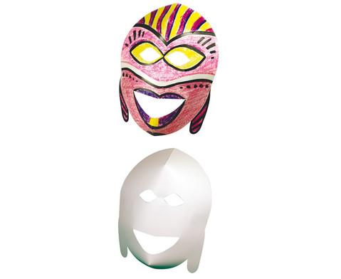 Afrikanisches Maskenset-1
