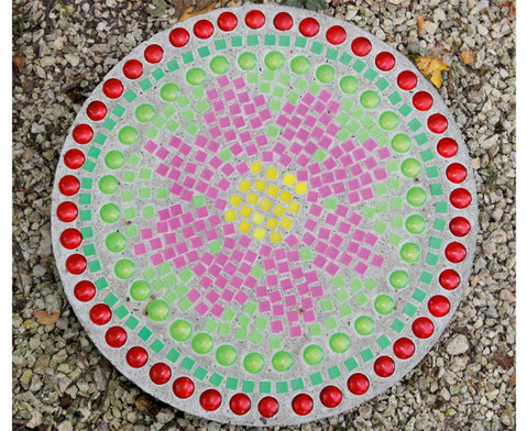 Mosaiksteine aus Kunststoff viereckig-4