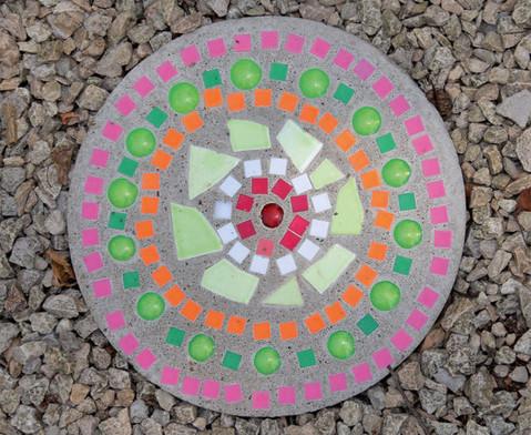 Mosaiksteine aus Kunststoff viereckig-5