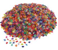 Transparente Mosaiksteine (Kunststoff), 1kg
