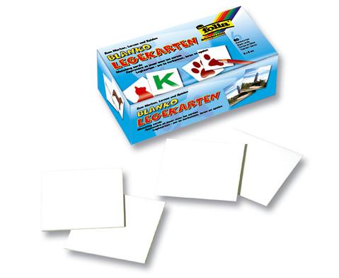 Lege-Karten 6 x 6 cm 60 Stk-1