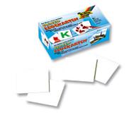 Lege-Karten, 6 x 6 cm, 60 Stk.