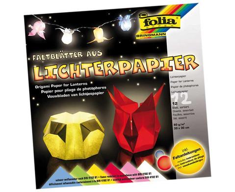 Lichterpapier 12 Boegen in 6 Farben-1