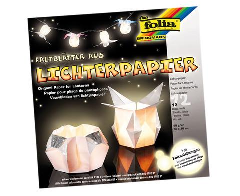 Lichterpapier glaenzend-weiss-1