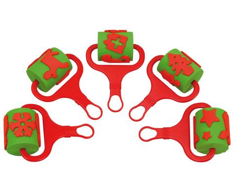 5 Stempelwalzen Weihnachten-1