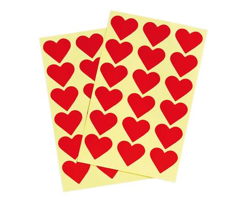 Herzaufkleber 36 Stueck-1