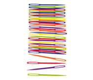 Nadeln aus Kunststoff, 32 Stück