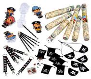 Geschenkeset für Piratengeburtstage, 31-tlg.