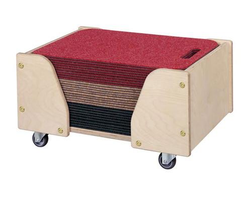 Boden-Sitzmatten mit Wagen-1