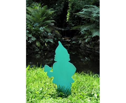 Gartenzwerg mit Pilz 50 cm-3