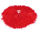 Pompons in Rot oder Gelb-3