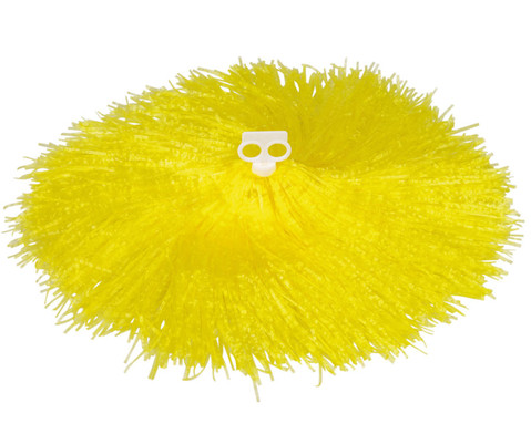 Pompons in Rot Gelb oder Blau-6