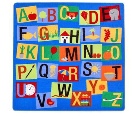 Teppich Buchstaben-Quadrat-1