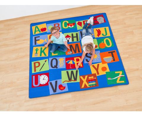 Teppich Buchstaben-Quadrat-2