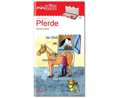 miniLUEK Pferde Erstes Lesen