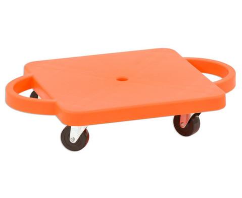 Funfahrzeuge - edumero Kleines Rollbrett Farbe orange - Onlineshop