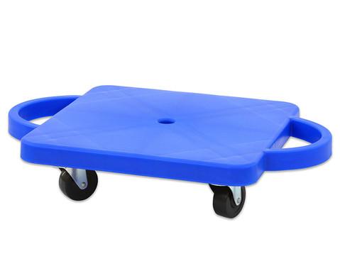 Funfahrzeuge - edumero Kleines Rollbrett Farbe blau - Onlineshop