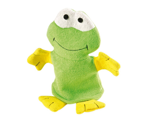 Waschhandschuh Frosch-1