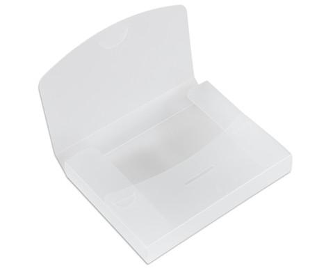 Transparente Verpackungsbox A5-1