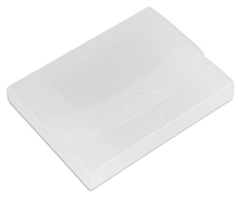 Transparente Verpackungsbox A5-2
