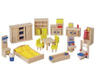 Puppenhaus-Möbel, Set 1