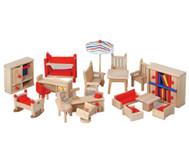 Puppenhaus-Möbel, Set 2