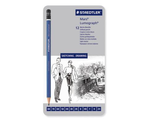 Staedtler Bleistifte 12 Stueck-2