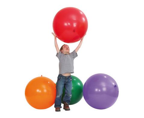 Riesen-Luftballons 5 Stueck in 5 Farben-1