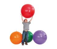 Riesen-Luftballons, 5 Stück in 5 Farben