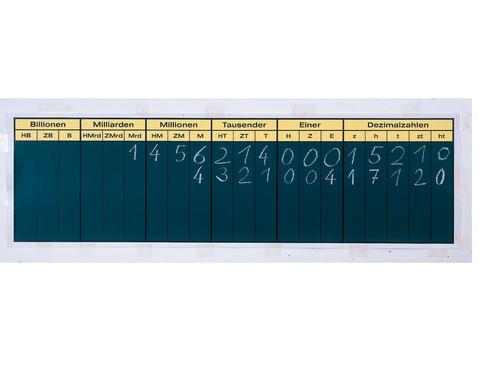 UEbungstafel Hundert Billionen mit Dezimalstellen z h t zt ht-1