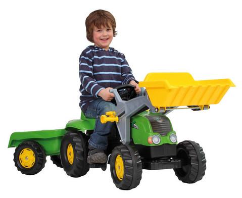 Traktor mit Anhaenger-2